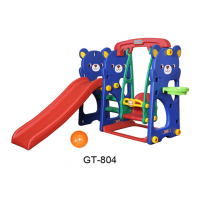 Cầu tuột  xích đu bóng rổ con gấu Teddy GT-804