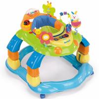 Xe tập đi cho bé có đồ chơi 3 IN 1 Brevi Giocagiro BRE-551