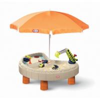 Bàn chơi cát và nước - hình bán nguyệt - có dù (LT-401N10070)