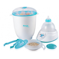 Máy tiệt trùng bình sữa và hâm sữa Kenjo KJ-06N