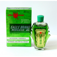 Dầu Gió Con Ó - Dầu Xanh Eagle Brand Xách Tay Từ Mỹ