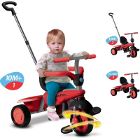 Xe đạp 3 bánh Smart - Trikes  Breeze 3 IN 1 Red