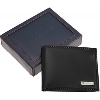Bóp da Tommy Hilfiger Leather Men's Multi-Card Bifold Passcase 29749