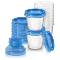 Cốc trữ sữa VIA Philips Avent SCF618-10 180ml, 10 ly