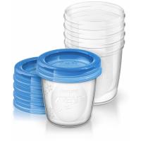 Cốc trữ sữa VIA Philips Avent SCF619-05 180ml, 5 ly