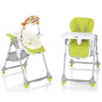Ghế ăn có đồ chơi BREVI BFun Arancio BRE279-262 màu xanh lá