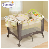 Nôi 2 tầng fox and friends playard summer sm22243