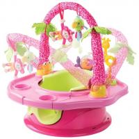 Ghế tập ngồi 3 giai đoạn Summer Infant 13305 màu hồng