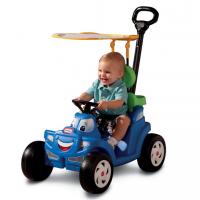 Xe oto có cần đẩy và mái che Little Tikes LT-622069MP