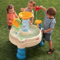 Bàn chơi nước hình xoắn ốc Little Tikes LT-620300