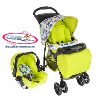 Xe đẩy Mirage Graco xanh TOY TOWN GC-7M69TYTE