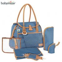 Túi đựng đồ cho mẹ và bé style xanh navy Babymoov BM15284