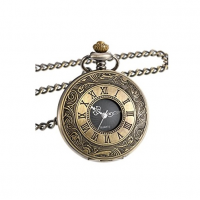 Đồng hồ quả quýt bỏ túi Mudder Vintage Roman Numerals Scale Quartz Pocket Watch with Chain - AM4282