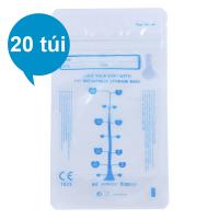 Hộp 20 Túi Đựng Sữa Mẹ (Trữ Sữa Mẹ) Umimom UM870404 (210ml)