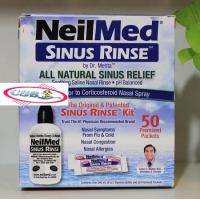 Bộ rửa mũi Neilmed Sinus Rinse (1 bình + 50 gói muối)