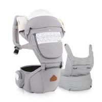 Địu em bé đa chức năng I-Angel Nature Hipseat Carrier IA-127-AG 3-36 tháng (Xám)