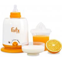 Máy Hút Sữa Điện Đôi Rozabi Tặng Máy Hâm Sữa Fatz 4 Chức Năng