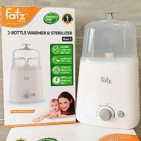 Máy Hâm Sữa Fatz Baby Hai Bình Cổ Rộng Thế Hệ Mới FB3012SL