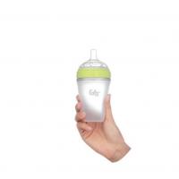 Bình sữa silicon Fatz 180ml xanh lá