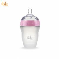 Bình sữa Silicon Fatz Baby 240ml FB0240C-H - Màu Hồng