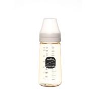 Bình sữa  PPSU Cổ Rộng Spectra Màu Vàng Dung Tích 260ml Núm Ti Size M