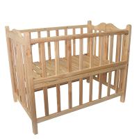 Giường cũi cho bé gỗ thông cao cấp VINANOI - VNC107