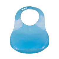 Yếm Nhựa Mềm Cho Bé UP4005AX - Màu Xanh Dương