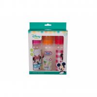 Bộ 3 Bình Sữa và Trữ Sữa 250ml  Disney Baby 4OZ DN1612 Màu Bé Gái