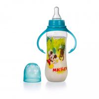 Bình Sữa Có Tay Cầm 250ml DN20633 - Xanh Dương
