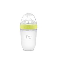 Bình sữa Silicon Fatz Baby 240ml - Màu Xanh