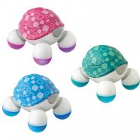 Máy Massage Cầm Tay Mini Turtle 3 Đầu Homedics NOV-60 USA, Thiết Kế Tiện Dụng, Pin AAA Dễ Dàng