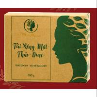 Túi Xông Mặt Thảo Dược Wonmom - Thải Độc Da , Tẩy Tế Bào Chết 200gr (1 hộp)